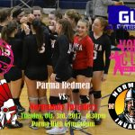 Volley For the Cure Game: Tuesday, October 3rd vs. Normandy 6:30pm