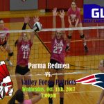 Redmen Volleyball Hosts Valley Forge on October 11th