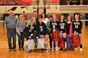 Pics of Volleyball vs Valley Forge: Senior Parent Night