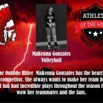 PSH Athletes of the Week: MaKenna Gonzales and Matt Higginbotham
