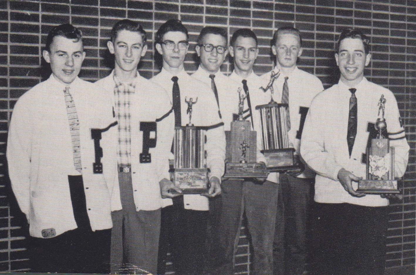 Throwback Thursday: 1959-Redmen Cross Country Team finishes as State Runner-Ups