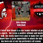 PSH Athletes of the Week:  Brie Ghann and Mary Thomas