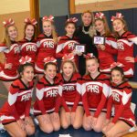 Redmen Cheerleaders take 4th place in the GLC Championships