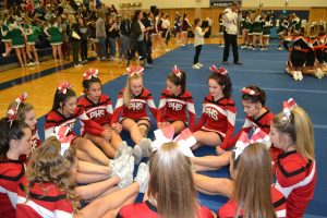 Pictures from the GLC Cheer Competition
