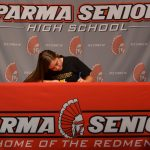 Redmen Basketball Player Lindsay Humbel Signs National Letter of Intent to Accept Scholarship to West Liberty University