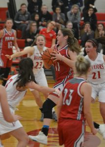 Pictures from Girls Basketball's Sweep of Fairview