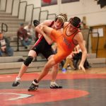 Boys Varsity Wrestling beats North Olmsted 47 – 30
