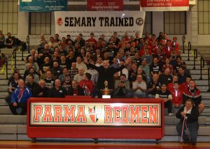 Pictures from Wrestling Alumni Night & Pat Semary Recognition