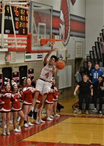 Pics of Boys Basketball's win vs. Normandy