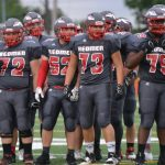 Parma Redmen Football Team Hits the Weight Room