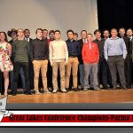 GLC Champion Wrestling Team Recognized at Awards Ceremony