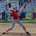 Redmen Softball Beats Rocky River 8-4; Jackson and Stec Shine in Win