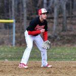 Redmen Baseball Beats Holy Name 8-7; Stolarski and Ivancic Lead the Way