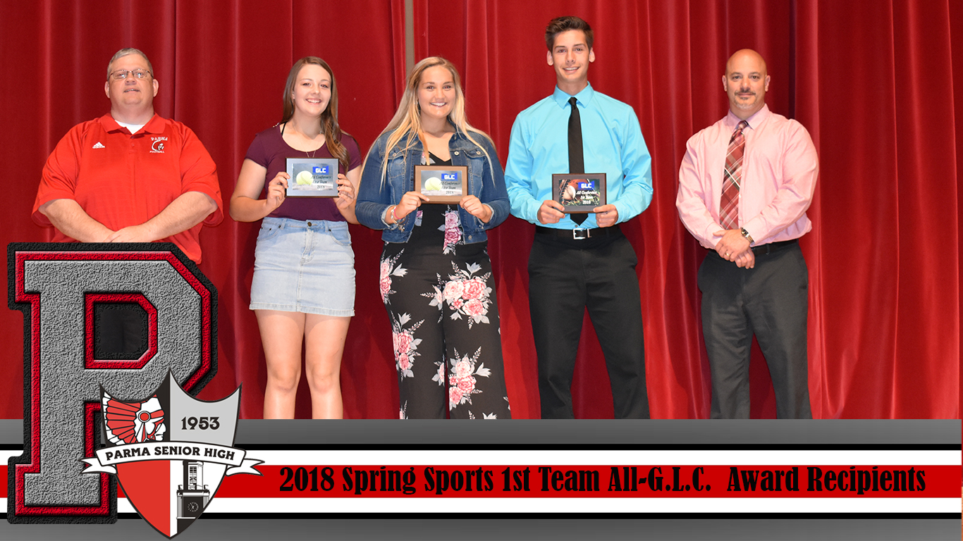 Spring Sports Awards: All-GLC 1st Team Recipients