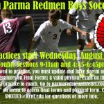 Join Redmen Boys Soccer!