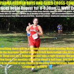 Join the Redmen Cross-Country Team!