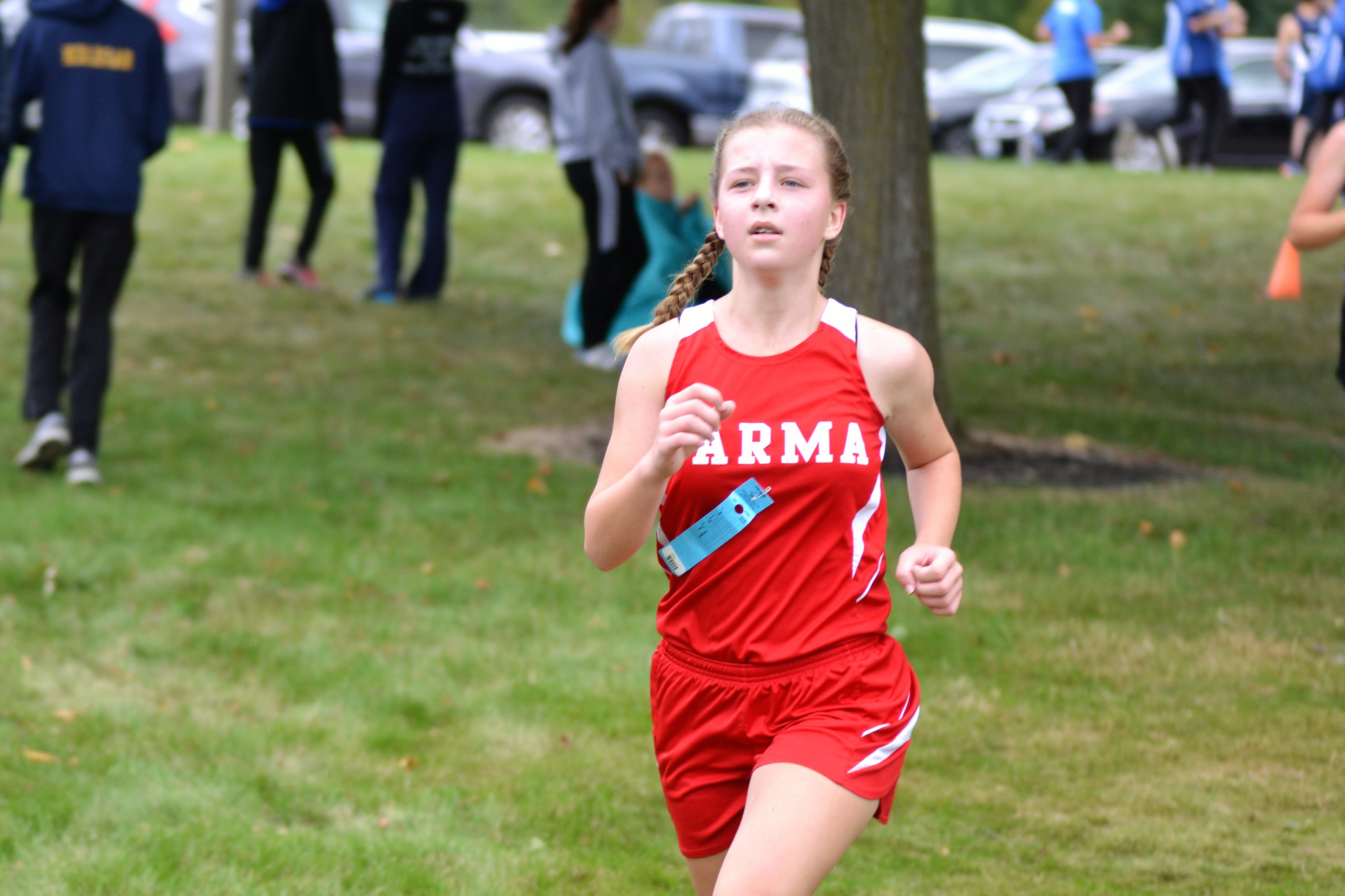 Pics of Redmen Cross Country at the Patriot Invitational