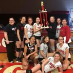 Redmen JV Volleyball finishes as Cuyahoga Hts. Tournament Runner-Ups