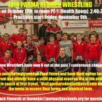 Join Parma Redmen Wrestling!