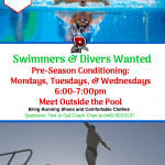 Join Redmen Swimming and Diving