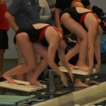 Redmen Swimmers Win Again; Beat Bedford in Both Boys and Girls