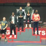 Redmen Wrestlers Place 4th at Cuyahoga Hts. Tournament