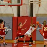 Pictures from the Lady Redmen Basketball team's 39-34 Victory over Brecksville