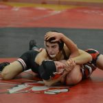 Pictures of Wrestling at Hudson Tournament and Fairview Meet