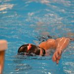 Redmen Swimmers End Dual Meet Season With Win Over Mooney; GLC's Up Next