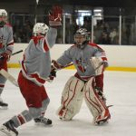 Pictures: Parma Redmen Ice Hockey Dominates Normandy 8-2; Sit in Driver's Seat For Blue-North Division Title