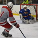 Pictures: Redmen Hockey Clinch Blue-North Championship with 11-1 Victory over NDCL