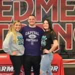 3 Redmen Athletes Commit to Continuing Their Education and Sport in College