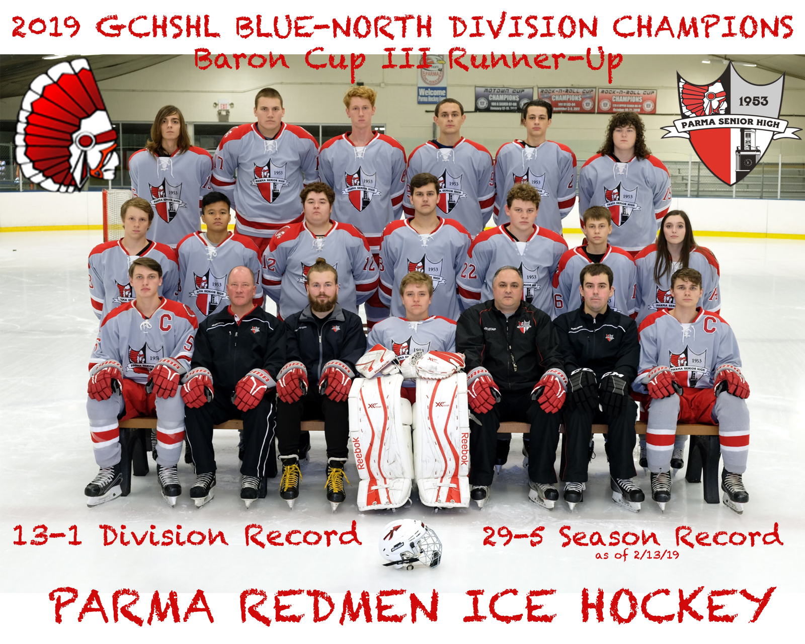 Balcer, Ziol and Redmen Hockey Have Record Week