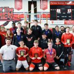 Redmen Wrestlers Finish 2nd in Conference Tournament and 5-1 in Duals