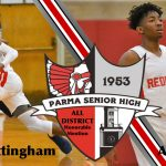 Cottingham and Eason Selected All-District Honorable Mention