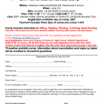 Parma Redmen Girls Softball Camp- June 3rd-5th