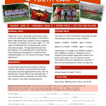 Parma Boys and Girls Youth Soccer Camp: June 25-27 at Byers Field