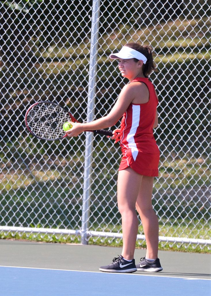 Girls Tennis Meeting and Open Courts on Monday, July 8th at 9am
