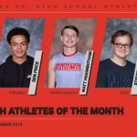 Congratulations to the PSH Athletes of the Month for September