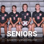 Boys Soccer Senior Night Tonight