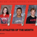 Congratulations to the PSH Athletes of the Month for October