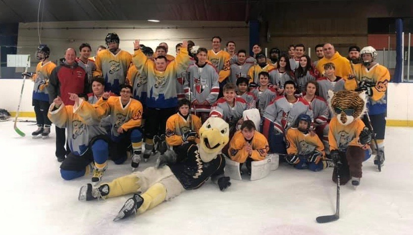 Parma Redmen Ice Hockey Program Helps Raise Over $5,000 For Special Needs Hockey Team