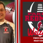 Welcome to the Redmen Nation- Vince Gerace Named Head Football Coach of the Redmen