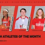 Congratulations to the PSH Athletes of the Month for December