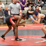 Pictures from Wrestling vs Bay