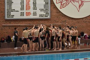 Pictures from Swimming/Diving's Win over Cuyahoga Hts.