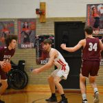 Pictures from Boys Basketball's 45-34 Victory over Rocky River