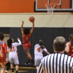 Pictures: Lady Redmen Basketball Completes Season Sweep of Normandy with 56-47 Win