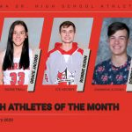 Congratulations to the PSH Athletes of the Month for January