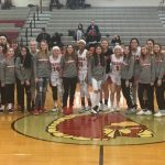 Girls Basketball Celebrates National Girls and Women in Sports Day by recognizing Middle School Girls Basketball Teams